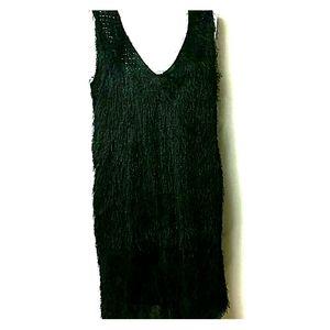 Fashion Union New Size M/8 Black Dress